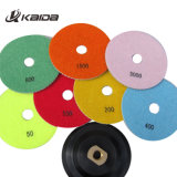 Flexible Wet Granite Diamond Polishing Pads for Angle Grinder