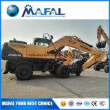 Cheap Excavating Hyundai 210 Wheel Excavator with Best Price