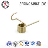 Double Twist Torsion Spring for Small Machinery