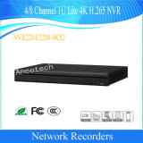 Dahua 4/8CH 1u Lite 4K H. 265 Network Video Recorder (NVR2204-4KS2/NVR2208-4KS2)