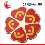 2016 Wholesale Cheap Custom Printing Logo Tinplate Badge
