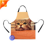Animal Printed Apron Kitchen Accessories Cooking Apron for Housewife