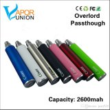 E Cig Battery Clover Overlord 2600mAh USB Passthrough Overlord Root Battery