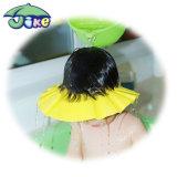 Jike Wholesale Baby Shower Caps Custom/Children Shampoo Hat/Baby Bath Ear Shower Cap