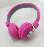 Foldable Wired Headset Stereo Computer Headphone