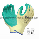 Construction Labor Protective Latex Coated Work Gloves