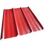 Color Coated Corrugated Steel Plate for Roof Construction Building