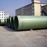Green Color Large Diameter Fiber Glass Plastic FRP Pipe