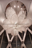 High Quality Modern Art Large Flower Shape Crystal Chandeliers