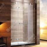 Zhongshan Guangdong China Customized Frameless Hinged Without Steam Simple Shower Room