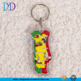 Cartoon Guitar Acrylic Advertising Promotion Keychain Wholesale Custom/ Customized According to Drawings
