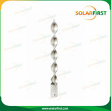 Customise Different Size Galvanized Ground Screw Pole for Solar Panel Structure