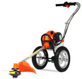52cc Gasoline Grass Trimmer with Wheels, Brush Cutter