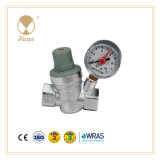 Heape Brass Water Pressure Reducing Valve with Gauge for Pipeline