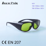 Laser Safety Glasses for 755nm, 808nm, 980nm Diodes & ND: YAG Protective Goggles Frame 33