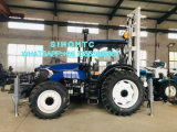 4X2 4X4 driving tractor mounted water well drilling machine