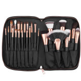 Travel Makeup Brushes Set with Makeup Bag Cosmetics Face Brushes Eye Brushes