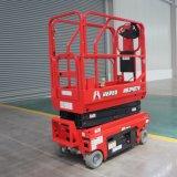 Hered Brand HS0407e 4m 5m in House Mini Electric Hydraulic Scissors Type Scissor Lift Man Lift Aerial Work Platforms