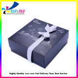 Wholesale Cheap Price Black Paper Printing Cosmetic Packaging Gift Box for Skin Care