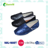 Fashion and Glitter Upper Design, Confortable Casual Shoes