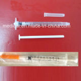 Safety Insulin Syringes with Mechanism 1cc 0.5cc