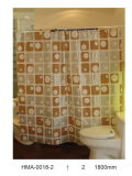 Square Home Use Polyester Shower Curtain