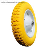 13 Inch PU Foam Wheel with Metal Rim
