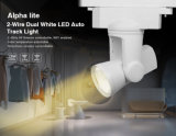 Alpha Lite (Dual White) 2 Wire 25W LED Auto Track Light (AL2)
