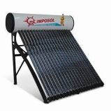 24tubes Compact Nonpressure Galvanized Steel Solar Water Heater (GS475818)