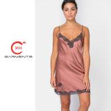 Xh Garments Silk Lace Hot Night Dress