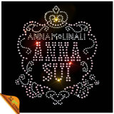 Custom Logo Rhinestone Transfer Iron on Motif (CT)