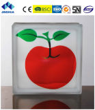 Jinghua High Quality Artistic C-4 Painting Glass Block/Brick
