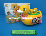 B/O Universal Duck Car Toys with Music Light (043838)