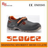 Good Quality Summer Safety Shoes with Cow Nubuck Leather RS190