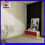 Modern MDF PVC Hot Sale Badroom Wardrobe (ZH-5023)
