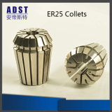 China High Accuracy CNC Milling Machine Tool Accessories Er25 Collet