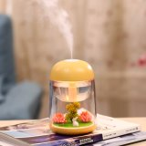 Promotion Micro Landscape Mini USB Ultrasonic Humidifier for Indoor or Car