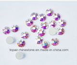 2088 Best Bling Cutting Copy Swar Crystal Ab Non Hotfix Glass Flat Back Rhinestone (FB-24)