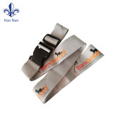 Promotion Gift Adjustable Polyester Baggage Belt with Detachable Buckle