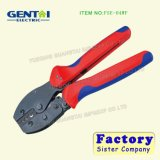 Ratchet Crimping Pliers for Non-Insulated Tabs and Receptacles