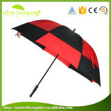 30 Inch Double Layer Custom Design Weatherproof Golf Umbrella