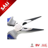 Fine Polished Cutting Edges Induction Handened Top Quality Long Nose Pliers