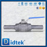 Didtek Class 800 Butt Weld Reduced Bore Forged Ball Valve Nipple End