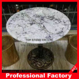 Smooth Surface Marble Side Table
