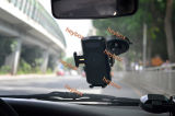 Quick Wireless USB Mobile/Cell Phone Car Charger with Power Bank
