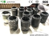 Nero Marquina/Honed Marble Vases for Home Decoration