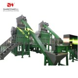 Automatic Rubber Crumb Recycling Line for Shredding Waste Car/Truck Tire