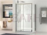 Sanitary Ware: Shower Door Aluminum Profile Shower Enclosure
