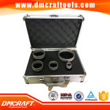 5 PCS Brazed Diamond Hole Saw Diamond Core Drill Bit Set