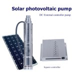 Kary Agricultural Irrigation Water Pump Submersible Pump Solar System Water Pump Impeller